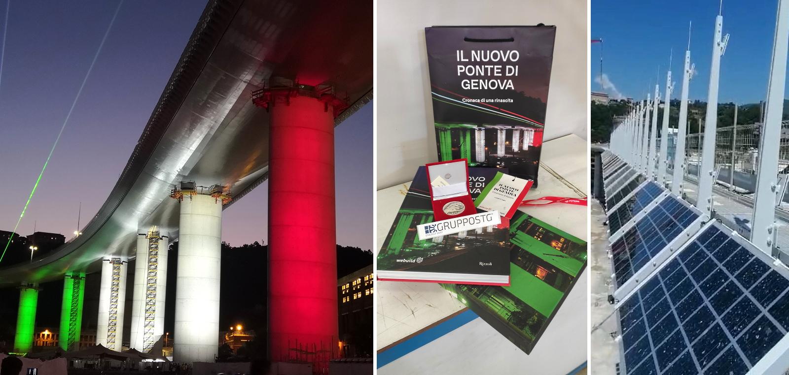 Ponte di Genova moduli Fotovoltaici